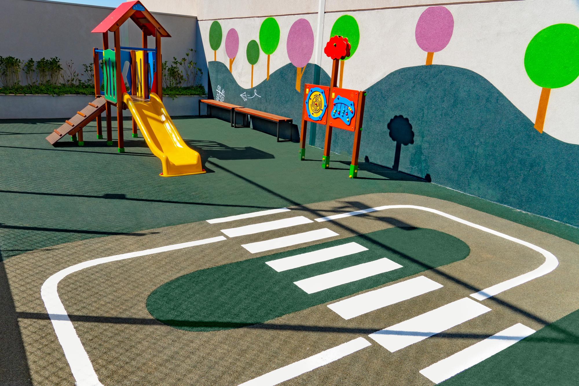 Segurança vem primeiro: por que aplicar pisos de borracha no playground?