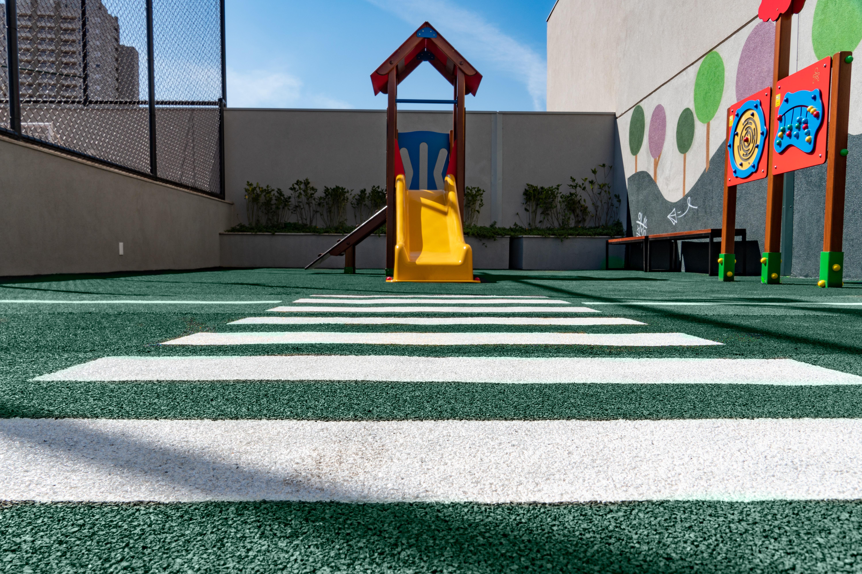 Pisos Rubber para Playground. Personalização de piso emborrachado.
