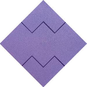 Lilás Mosaico