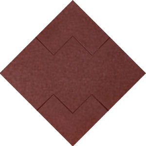 Marrom Mosaico
