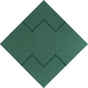 Verde Grama Mosaico